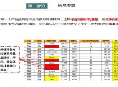 【第02课】学会速卖通数据分析数据纵横之商机发现(2)
