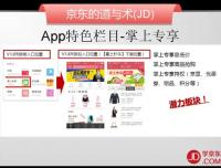 4.数据篇-17.逍遥子-APP特色栏目-京东商城运营培训全套教程系列课程