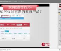 3.搜索篇-1.京东第一节-如何找到京东的蓝海产品-京东商城运营培训全套教程系列课程