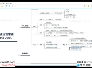 【20.1.8】冷门行业运营思路-水朵教育vip系统课