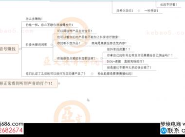 抖音快速拉爆销量核心技巧-2020.01.06-亚文教育vip教程